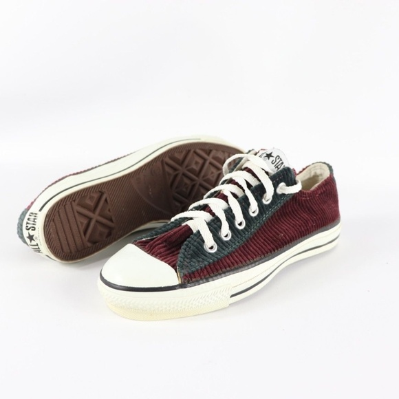 f19bd2576b4e Vintage New Converse All Star Corduroy Shoes USA